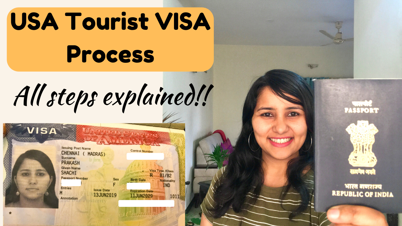 Steps to apply for a USA B1/B2 visa in India