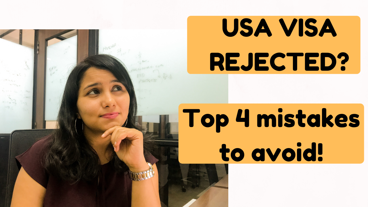 USA B1/B2 visa rejection reasons in India