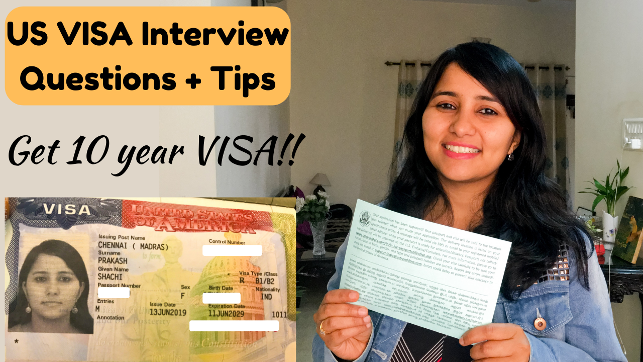 All about the USA Tourist visa ( B2 ) - Interview questions, rejection reasons, and document checklist